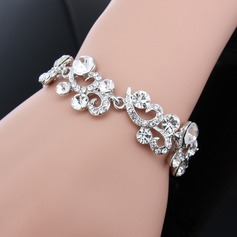 Romantic Alloy/Rhinestones Ladies' Bracelets