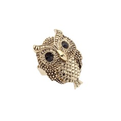 Cute Owl Alloy With Rhinestone Ladies' Fashion Rings