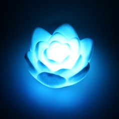 Color changing Lotus Vinyl LED Lights (set of 4) (More Colors)