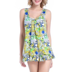 Sexy Floral One-piece (202120455)