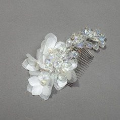Beautiful Crystal/Rhinestone/Silk Flower Combs & Barrettes