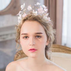 Gorgeous Imitation Pearls/Tissue Tiaras/Flowers & Feathers
