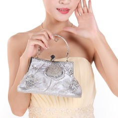Elegant Sequin/Polyester Clutches/Top Handle