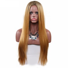 Straight Synthetic Hair Synthetic Wigs 280g
