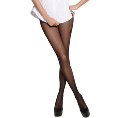 Plaid Jacquard Nylon Chinlon Pantyhose