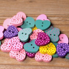 Lovely/Colorful Wooden Buttons