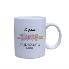 Bridesmaid Gifts - Personalized Keramik Mug