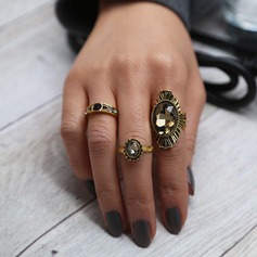 Fashional Alloy Ladies' Fashion Rings (Set of 3)