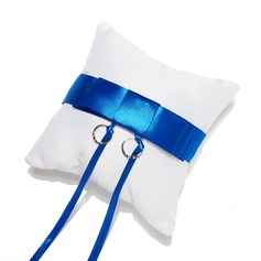 Splendor Ring Pillow in Satin With Sash