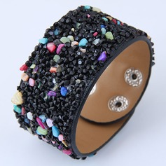Fashional Resin Leatherette Women's Fashion Bracelets (Sold in a single piece)