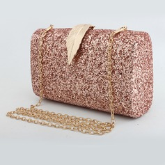 Unique Sparkling Glitter Clutches (012206435)