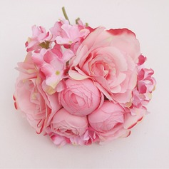 Pretty Artificial Silk Bridal Bouquets/Bridesmaid Bouquets/Wedding Table Flowers -