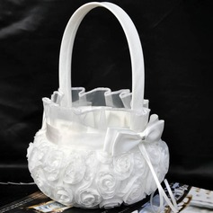Beautiful Flower Basket in Cloth With Flower (102190542)