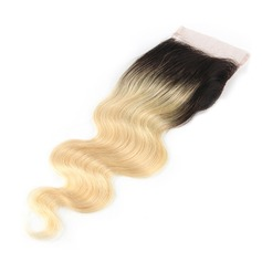 "4""*4"" 4A Non remy Body Human Hair Closure (Sold in a single piece) 30g"