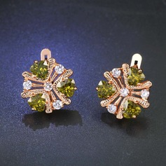 Gorgeous Zinc Alloy Ladies' Fashion Earrings