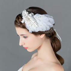 Glamourous Rhinestone/Imitation Pearls/Satin Flowers & Feathers/Headbands