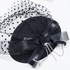 Ladies' Vintage Net Yarn Fascinators/Tea Party Hats