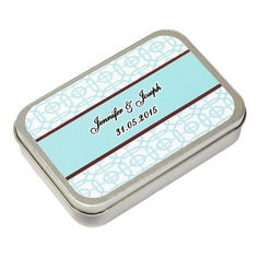 Personalized Cuboid Tins Favor Tin