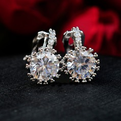 Unique Rhinestones Fashion Earrings (Set of 2)