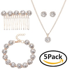 Elegant Rhinestones With Rhinestone Ladies' Jewelry Sets