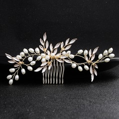 Pretty Alloy Combs & Barrettes (Sold in single piece) (042207529)