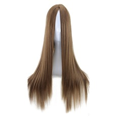 Straight Synthetic Hair Synthetic Wigs 240g