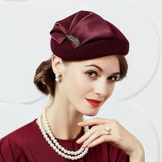 Ladies' Glamourous Wool With Silk Flower Fascinators
