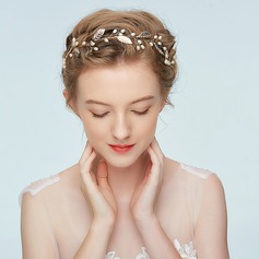 Ladies Special Alloy Headbands With Rhinestone/Venetian Pearl (Sold in single piece)