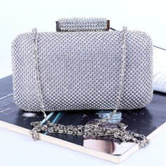 Attractive Crystal/ Rhinestone Clutches/Satchel