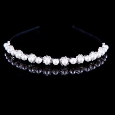 Attractive Alloy/Pearl With Rhinestone Hair Jewelry