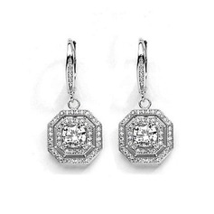 Nice Alloy/Zircon Ladies' Earrings