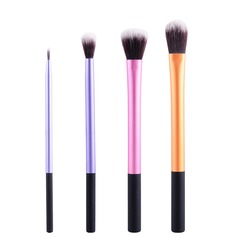 Artificial Fibre Practical 4Pcs Makeup Supply