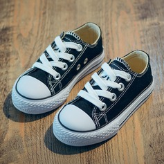 Unisex Closed Toe Canvas Canvas Flat Heel Flats Sneakers & Athletic With Lace-up