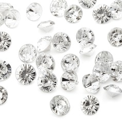 "2/5""(1cm) Pretty Piezas de Diamante"