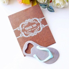 Flip Flop Bottle Opener in Thank You Giftbag Wedding Favors