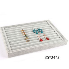 Ring ear nail jewelry tray(Transparent lid)