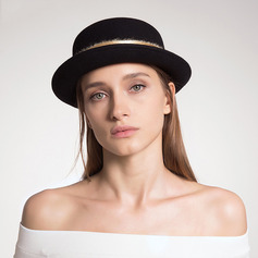 Ladies' Beautiful/Classic/Elegant Wool Fedora Hats
