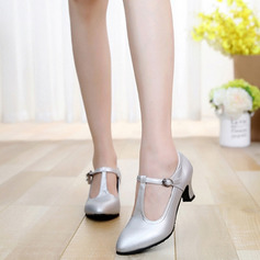 Women's Pumps Ballroom With T-Strap Dance Shoes