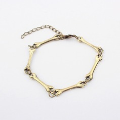 Bone Shaped Alloy Ladies' Fashion Bracelets