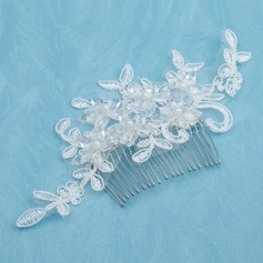 Beautiful Alloy/Pearl/Lace Combs & Barrettes