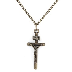Cross Metal Ladies' Fashion Necklace