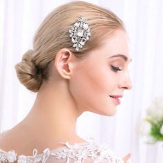 Ladies Pretty Alloy Combs & Barrettes With Crystal