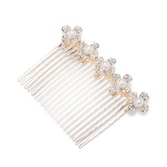Lovely Alloy/Imitation Pearls Combs & Barrettes