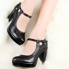 Women's Pumps Swing With Ankle Strap Dance Shoes