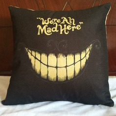 Halloween Clown We Are All Mad Here Pillowcases (Sold in a single piece)