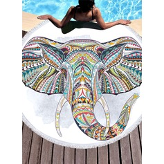 Elephant Oversized Beach towel (204165348)