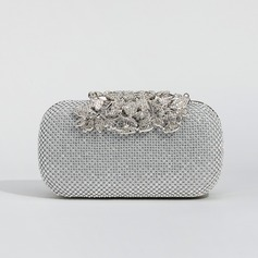 Charming Crystal/ Rhinestone Clutches/Wristlets/Satchel (012105749)