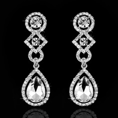 Beautiful Rhinestones Ladies' Earrings