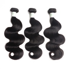 6A Indian Virgin/remy Body Wavy Hair Weaves/Weft Hair Extensions (Sold in a single piece) 100g