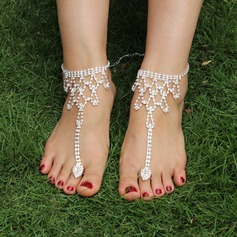 Rhinestone Alloy Foot Jewellery Accessories (107122425)